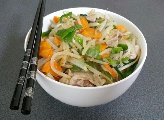 塩野菜炒めラーメン